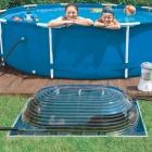Chauffage solaire pour piscine hors-sol BIG DOME