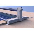 Volet automatique piscine BAHIA II batterie sur rails - ECA