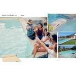 Liner piscine 75/100ème sable