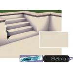 Liner piscine 75/100ème VERNIS sable -  2010