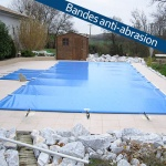 Bâche à barres piscine Aquaprotect PERFECT sur mesure