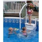 Escalier piscine hors sol AQUARIUS PVC - 5010 -