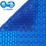 Bâche à bulle 400 µ standard 4 cotés BLEU - Géobubble