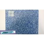 Liner piscine 75/100ème imprimé 3010 - cote d'azur bleu vernis