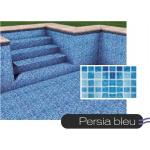 Liner piscine 75/100ème persia bleu