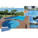 Liner piscine 75/100ème 3010 persia bleu vernis