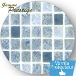 Liner piscine 75/100ème 2015 persia gris bleu vernis