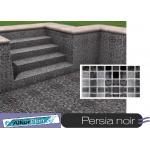 Liner piscine 75/100ème 3010 persia noir vernis