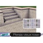 Liner piscine 75/100ème 3010 persia vieux rose vernis