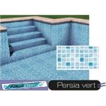Liner piscine 75/100ème 3010 persia vert vernis