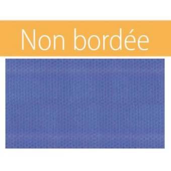 Bâche à bulle eco 400 µ BRUT rectangulaire bleu/bleu