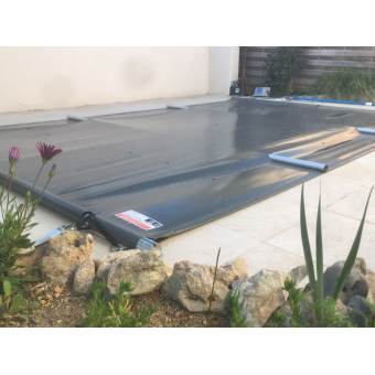 bâche à barres piscine Aquaprotect sur mesure