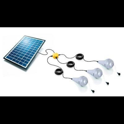 Kit éclairage jardin solaire Ulitium x3