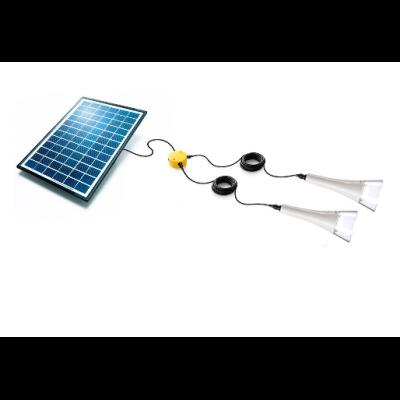 Kit éclairage jardin solaire T-Lite x2