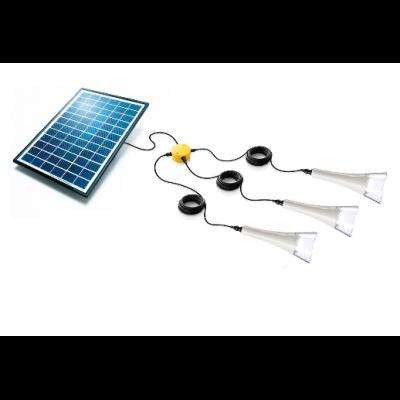 Kit éclairage jardin solaire T-Lite x3