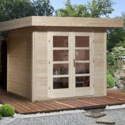 Abri jardin en bois Chill Out House taille 1 - WEKA
