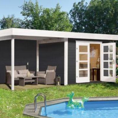 Abri jardin en bois Chill Out House taille 2 / 3 - WEKA