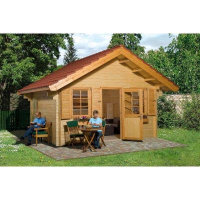 Abri de jardin en bois ALLGAU - WEKA
