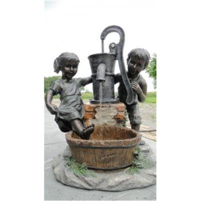 Fontaine de jardin rustique Austin - AcquaArte