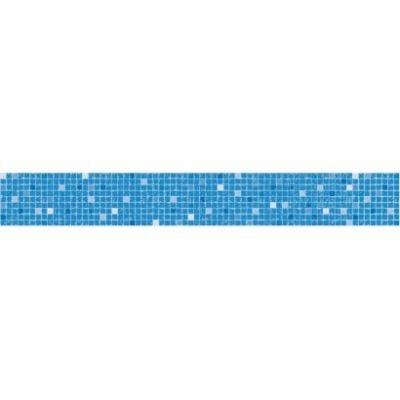 Frise piscine auto-collante Mosaïque 14 cm x 5 m