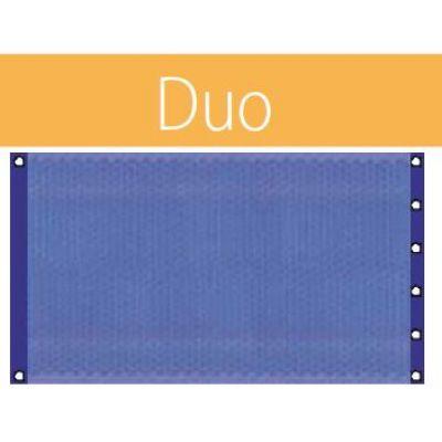 Bâche à bulle duo standard 400 µ bleu / bleu