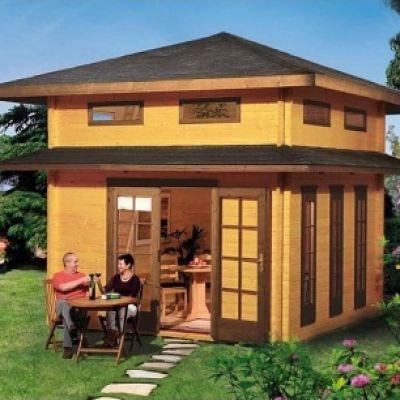 Maison de jardin en bois TOSKANA - WEKA