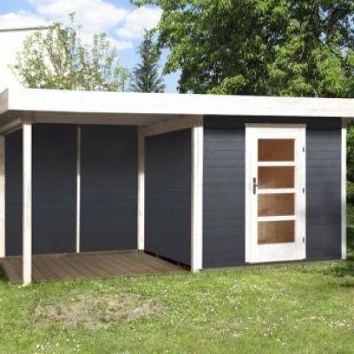 Abri jardin en bois Lounge taille 2 et 3 - WEKA