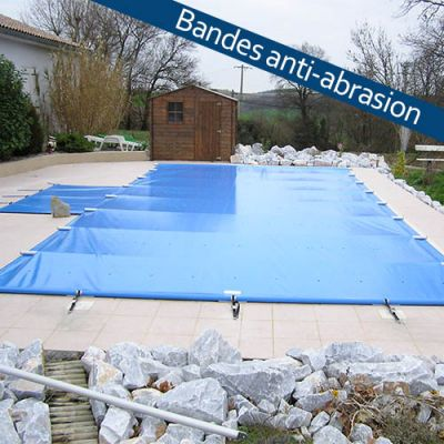 Bâche à barres piscine Aquaprotect PERFECT sur mesure