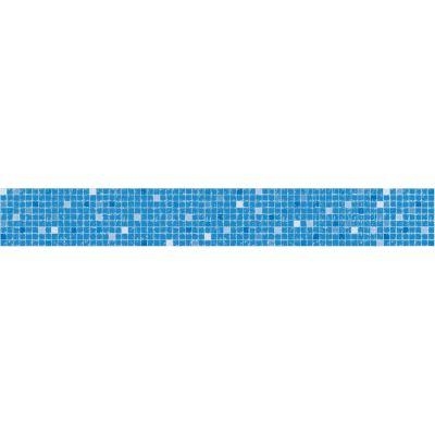 Frise piscine auto-collante Mosaïque 24 cm x 5 m