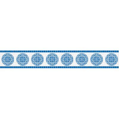 Frise piscine auto-collante Romane 24 cm x 5 m