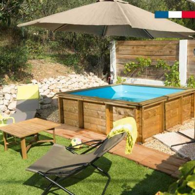 Piscine Bois Tropic Junior By BWT 2 x 2 m