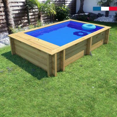 Piscine bois Pool'n Box junior 3.7x2.4, BF,Ht:70