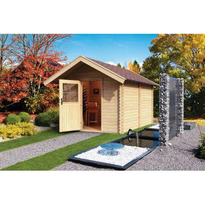 Sauna extérieur 38 mm CHALET 3 - karibu