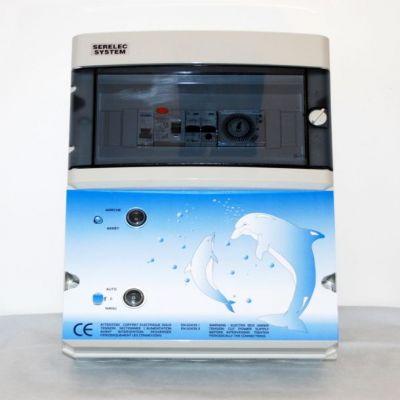 Coffret filtration + transfo 300 VA