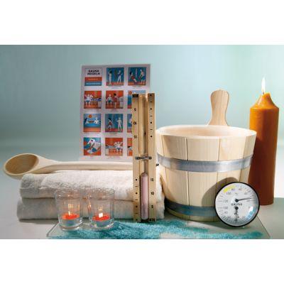 Set accessoire pour sauna traditionnel