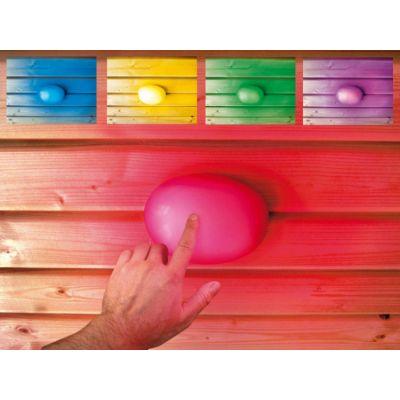 Lampe colorée pour sauna