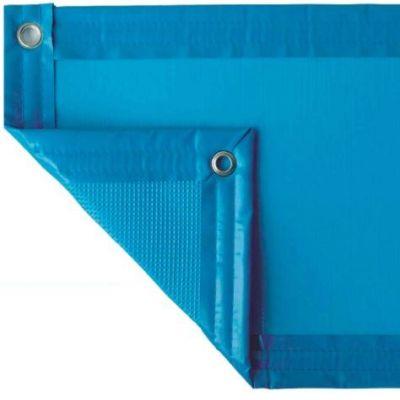 Couverture en mousse 5 mm : Bleu/Bleu LUXE
