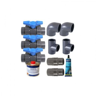 KIT BY PASS diam 50 mm - 38 mm - Ubbink