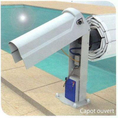 Volet automatique piscine BAHIA II Batterie - ECA