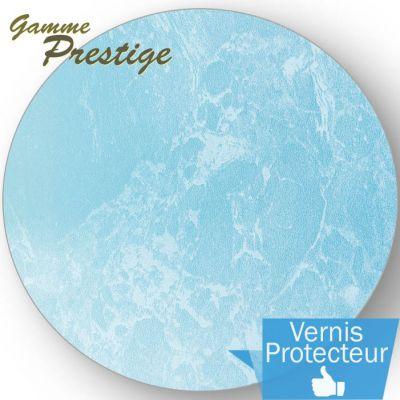 """Liner piscine 75/100ème 2015 effet """"nacré"""" : Bleu turquoise"""