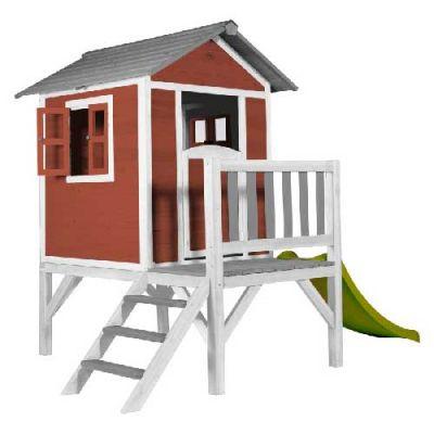Cabane pour enfant Lodge XL Rouge  - Sunny