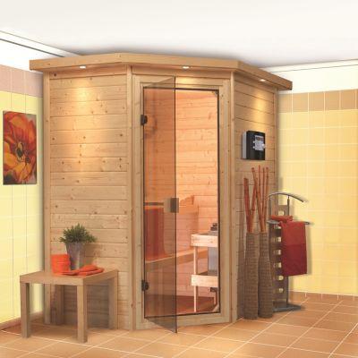 Sauna bois massif 38 mm Cilja  - PNP