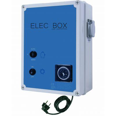 Coffret électrique ELEC-BOX : Filtration + projecteur 100 VA