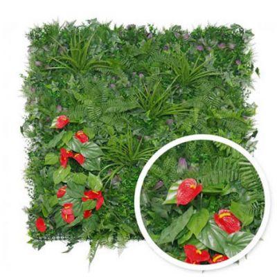 Mur végétal Tropical : 1m x 1m