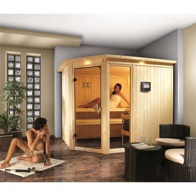 Sauna système 68 mm Fiona 3 - Design exclusif