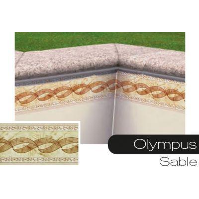 Frise pour liner piscine olympus sable