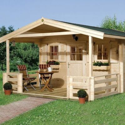 Abri jardin en bois Konstanz - WEKA