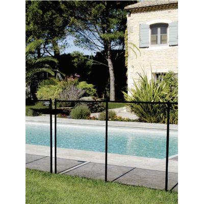 Clôture filet pour piscine NORA : module de 3.2 m