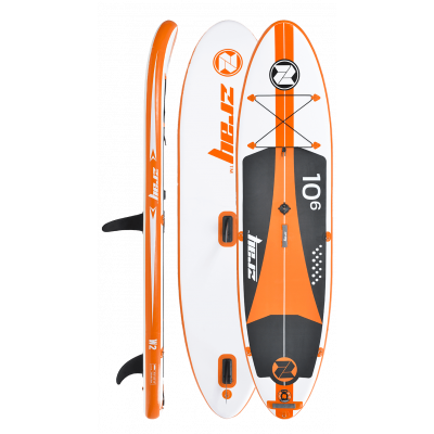 Paddle gonflable Zray W2 : 10'6 (voile incluse)