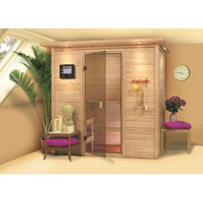 Sauna bois massif 38 mm Ronja - PNP